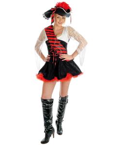 Plus size Flirty Pirate Costume